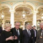 România a preluat președinția. Ceremonie la Ateneul Român