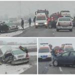 Tragedie fara margini ! Un mort si patru raniti (Foto)