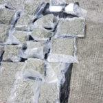 Captură de droguri în vamă. Cannabis și cocaină