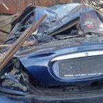 Accident cu un rănit. Patru mașini s-au făcut praf (Foto)