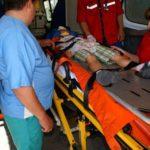 Copil lovit de o mașină