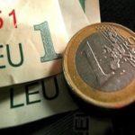 Curs valutar. Leul tot mai slab