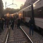 Accident de tren. Doi români răniți (Foto)