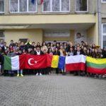 Proiect internațional realizat de elevi și profesori