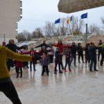 Bucurie în mișcare, în centrul municipiului Satu Mare