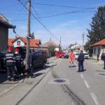Pericol de explozie pe o stradă din Satu Mare (Foto)