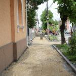 Se face trotuar nou-nout in Satmar. Vezi unde (Foto)