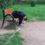 Tânăr drogat prins într-un parc din Satu Mare (Foto)
