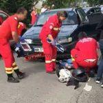 Motoclista din Satu Mare, ranita grav. Cum s-a întâmplat accidentul (Foto)