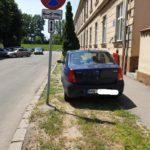 Parcare cu nabadai … aproape de Poliția Locala (Foto)