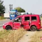 Masina din Satu Mare, implicata intr-un accident in Alba Iulia (Foto)
