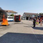 O zi alături de pompieri ! Exerciitii și demonstratii urmărite cu sufletul la gura (Foto)