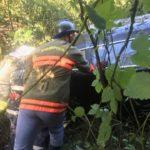 Accident la ieșirea din Livada. Doua victime (Foto)