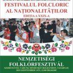 Festivalul Folcloric al Naţionalităţilor de la Bogdand. Ediția a XXIX-a
