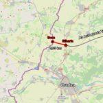 """Imagini din dronă cu """"ciotul"""" de autostradă care se construiește lângă Oradea (Video)"""