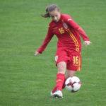 O careianca in lotul national de fotbal feminin. Cine este aceasta