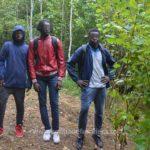 Trei negri prinși la granița. Unde se indreptau (Foto)