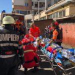 Doi frați s-au aruncat în gol de la etajul 5. Unul a murit (Foto&video)