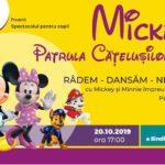 Hai în Clubul lui Mickey ! Petrecere mare, astăzi, la Casa de Cultura a Sindicatelor