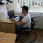 Lecție de viața de la un student în scaun cu rotile. Este din Satu Mare
