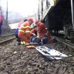 Bărbat lovit de tren. Victima a murit !