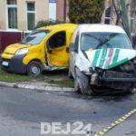 Accident cu trei răniți și doua mașini distruse (Foto)