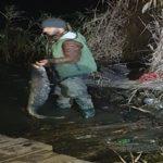 Pescar fără voie ! L-au prins cu trei maji de peste !