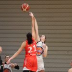 Duel la baschet intre CSU Rookies Oradea si BC Sirius Targu Mures
