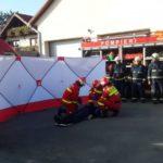 Victimele vor fi protejate de panouri. Achizitii făcute de pompierii bihoreni (Foto)