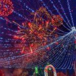Spectacol de muzica, lumini și culori … în Bistrita (Foto)