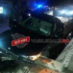 BMW-ul s-a făcut zob ! A fost urmărit de doua echipaje de Poliție (Foto)