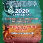 Concert extraordinar de Boboteaza. Cine sunt organizatorii