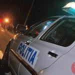 S-a oprit cu masina in parapet (Foto)