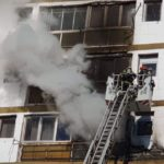Incendiu cu victime ! Doua persoane au suferit arsuri !
