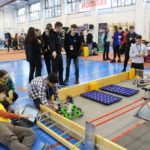 Au început meciurile dintre roboti. Pregatiri pentru competitia oficiala (Foto)