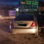Impact puternic cu scurgeri de combustibil. Doua masini distruse (Foto)