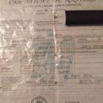 Certificat de nastere pierdut la Satu Mare. Vezi detalii