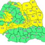 Cod galben de ninsori și viscol în mai multe judete din Transilvania