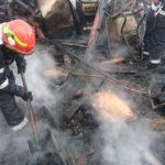 Incendiu la centrala termică a unei case de locuit din Odorheiu Secuiesc