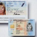 Cărțile de identitate cu cip, emise din 3 august 2021