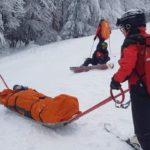 Sezon de schi si pe partia din Sovata. Salvamontistii trag un semnal de alarma