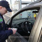 Prins de polițiști cu permisul de conducere fals