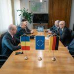 Ambasadorul Germaniei în România, în vizita la Satu Mare. Zboruri din Satu Mare, via Germania ? (Foto)