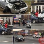 Accident cu doua victime. Doua mașini făcute praf (Foto)