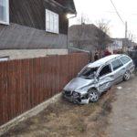 Accident grav. Un tanar in stare de inconstienta (Foto)