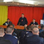 Jandarmii in sedinta. Prevenirea violentei in sport
