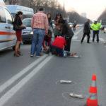 Fetița de 10 ani, lovita de o masina. Șoferul a fugit de la locul accidentului