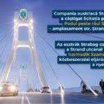 O firma din Austria va construi podul peste Somes, la strand