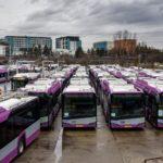 Transportul in comun din Cluj, redus la aproape jumatate din capacitate
