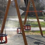 Parcurile și spatiile de joaca din Satu Mare, dezinfectate